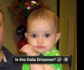 """Is this Dalia Drissman?"""